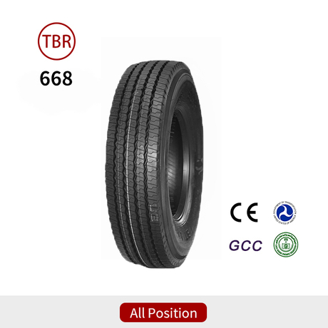 668 All Position 315 80R22.5 Truck Tires