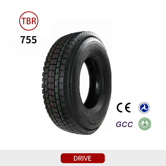 755 drive TBR truck tires for truck and bus