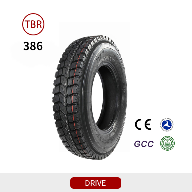 386 Traction Drive Tube Typre Truck Tyres
