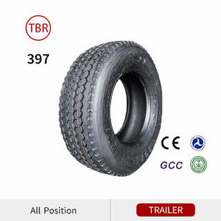 397 Deep Tread Super Single Trailer Truck Tire